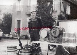 87 - MAGNAC VICQ SUR BREUILH- LOUIS TRICARD TONNELIER - RARE PHOTO ORIGINALE - Persone Identificate