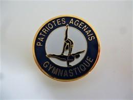 PINS GYMNASTIQUE PATRIOTES AGENAIS AGEN 47 LOT ET GARONNE  / 33NAT - Ginnastica