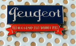 Pin's Championnat Sport Automobile PEUGEOT Grand Prix De France 1913 - Peugeot