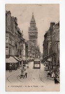 - CPA DUNKERQUE (59) - La Rue De L'Eglise 1915 (belle Animation) - Editions Lévy N° 6 - - Dunkerque