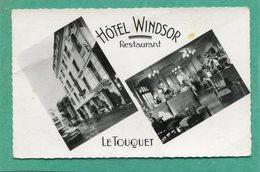 """62  .LE   TOUQUET  - PARIS  - PLAGE  .Hôtel  """"  WINDSOR  """"       .cpsm  9 X 14 - Le Touquet"""