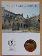 Médaille Touristique Autun -Lycée Bonaparte 2013 Avec Encart - Arthus Bertrand