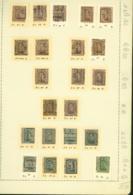 BELGIQUE PREOS TURNHOUT 2-3-5C 1921-1929  POS A,B,C,D VAL CAT 2530 FB MONTE SUR FEUILLE (DD) DC-3350 - Préoblitérés