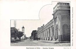 Paraguay - ASUNCION - Departamento De Policia - Ed. Foto San Martin Serie A No. 13. - Paraguay