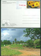 Liberia, Monrovia - Buchanan - Stamped And Postmarked Postcard,  Africa, Afrique - Liberia