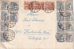 ALLEMAGNE ZONE AAS 1948 LETTRE DE STRALSUND - Gemeinschaftsausgaben