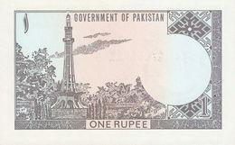 PAKISTAN P. 24A 1 R 1977 UNC - Pakistan
