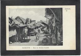 CPA Djibouti Afrique Noire Non Circulé Type Ethnic Commerce Shop - Djibouti