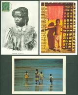 Lot 3 Postcards Cartes Postales Ile Mayotte - Comores Comoros - Indian Ocean - DOM TOM - Comores