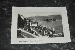 6158    LAGO MAGGIORE, STRESA, LUNGO LAGO - 1951 - Altre Città