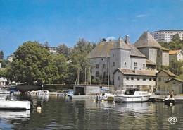 74 Thonon Les Bains Vieilles Maisons Typiques Du Port De Rive Au Bord Du Lac Léman (2 Scans) - Thonon-les-Bains