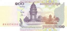 100 Riels Banknote Kambodscha 2001 - Cambodia