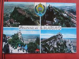 "San Marino - Mehrbildkarte ""Souvenir Di S. Marino"" - San Marino"
