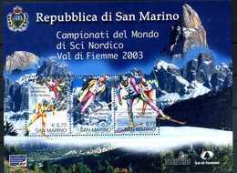 2003 SAN MARINO BF71 MNH ** - Blocchi & Foglietti