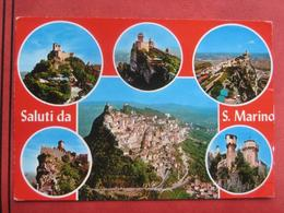 """San Marino - Mehrbildkarte """"Saluti Da S. Marino"""" - San Marino"""