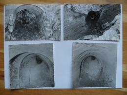 (Seine Et Marne - 77) - LAGNY - 1963 - Chantier Du Marché Couvert - Lot De 4 Photographies Archéologiques.....voir Scans - Lieux