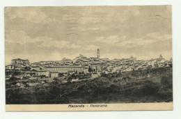 MACERATA - PANORAMA    VIAGGIATA FP - Macerata