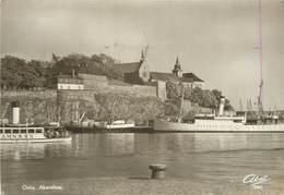 OSLO - Akershus.(bateaux). - Norvège