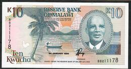 MALAWI P25c 10 KWACHA 1994 #BB AUNC. - Malawi