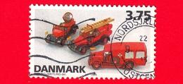 DANIMARCA - Usato - 1995 - Giocattoli Danesi - Modelli Di Veicoli TEKNO - Vigili Del Fuoco - 3.75 - Usati