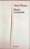 ALAIN ELKANN - Diario Verosimile. - History, Biography, Philosophy