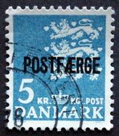 Denmark   1972    MiNr.44  (O) (lot A 760 ) - Parcel Post