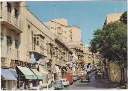 Sliema: HILLMAN IMP, AUSTIN MINI, COUNTRYMAN, VW T1-BUS, FORD ANGLIA, CITROËN DS, MERCEDES 180 - Tower Street - (Malta) - Toerisme