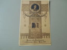 ITALIE LAZIO ROMA ROME 1909 RICORDO DELLA BEATIFICAZIONE GIOVANNA D'ARCO - Autres
