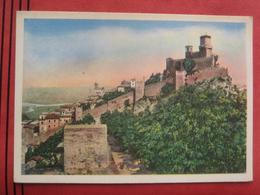 San Marino - La Rocca, Il Palatto Del Governo Visione Panoramica - San Marino