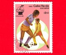 CAPO VERDE - Nuovo Oblit. - 1982 - Sport - Spagna '82 - Mondiali Di Calcio - Scena Di Gioco - 1.50 - Isola Di Capo Verde