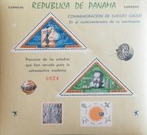 Panama 1965 Galileo,400th. Anniv.S/S - Panama