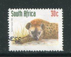 AFRIQUE DU SUD- Y&T N°1014- Oblitéré (hyènes) - Oblitérés