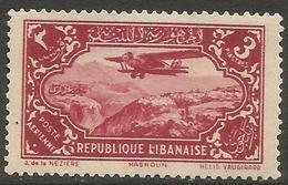 Lebanon - 1930 Airmail 3pi  MNH **  Mi 189 Sc C42 - Great Lebanon (1924-1945)