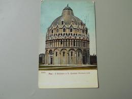 ITALIE TOSCANA PISA IL BATTISTERO O S. GIOVANNI  DIOTISALVI 1153 - Pisa