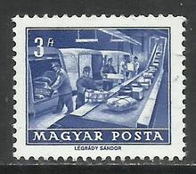 HUNGARY UNGHERIA MAGYAR 1963 1964 P.O. PARCEL CONVEYOR 3fo MNH - Ungheria