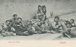 Cartolina - Postcard / Non Viaggiata - Unsent /  Costumi Napoletani -  Dolce Far Niente. - Europe
