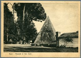 °°° Cartolina N. 114 Roma Piramide Di Caio Cestio Nuova °°° - Roma (Rome)