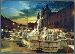 °°° Cartolina N. 115 Roma Piazza Navona Viaggiata °°° - Places & Squares