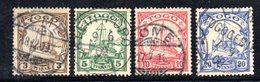 APR1119 - TOGO 1900 , 4 Valori Diversi Usati  (2380A) . - Colonia: Togo