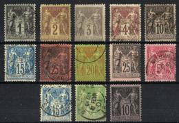 Francia Nº 83-85-87/91-96/8-101/3 - Francia