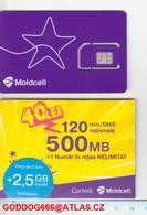 Unused SIM ,, MOLDOVA 1pcs, Mobile - Moldova