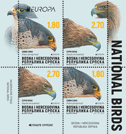 BHRS 2019-782-3 EUROPA CEPT, BOSNA AND HERZEGOVINA REPUBLIKA SRBSKA, BLATT, MNH - Bosnie-Herzegovine