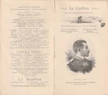 **  N° 1   Bulletin Bibliographique De La Collection Guillaume - Pierre Loti LE CARILLON Fermé H15cm - Journaux - Quotidiens