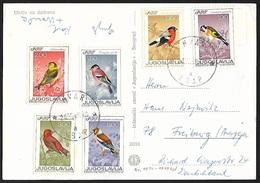 1968 - JUGOSLAVIJA - Card + Michel 1274/1279 + HVAR - Lettres & Documents