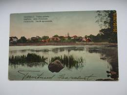 ESTONIA  HAPSAL  HAAPSALU STILLE PROMENADE    , OLD POSTCARD   , O - Estonia