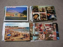 Nouveau Lot + De 1000 Cartes Postales Grand Format France Etranger Couleur Ou Noir Et Blanc Parfois Avec Timbres A Trier - Postcards
