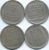 France - 10 Francs - 1946 (KM908.1) 1946 B (KM908.2) 1947 B (KM909.2) 1948 (KM909.1) - Francia