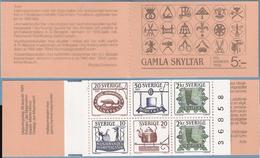Sweden 1985 Old Shop Signs Mi  1342-1346 In Booklet MH 108 MNH(**) - Sweden