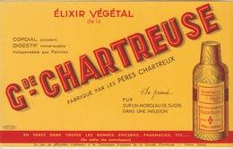 38 - BUVARD - VOIRON - GRANDE CHARTREUSE - Buvards, Protège-cahiers Illustrés