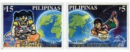 Ref. 40050 * MNH * - PHILIPPINES. 1999. 125th ANNIVERSARY OF UPU . 125 ANIVERSARIO DE LA UPU - Philippines